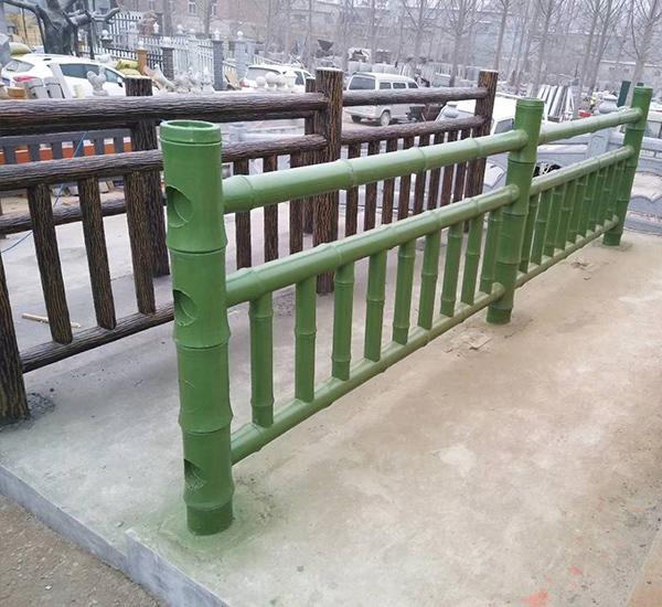 仿竹栏杆工艺