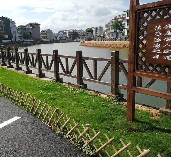 兴文水泥仿木栏杆