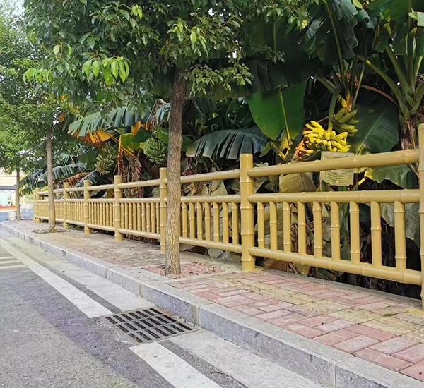 屏山水泥仿竹栏杆