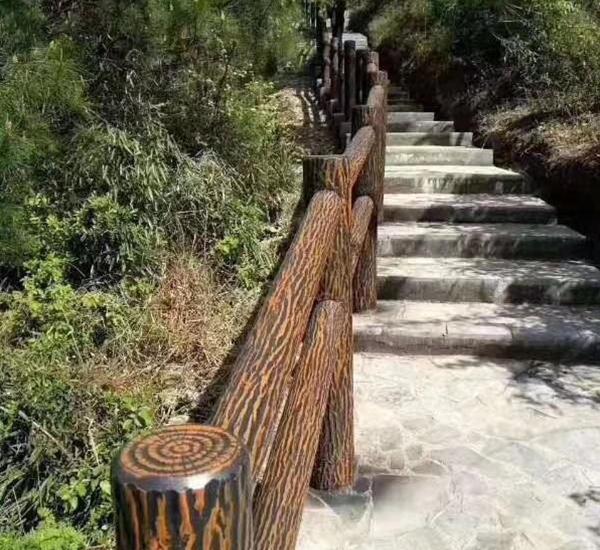 屏山仿树栏杆