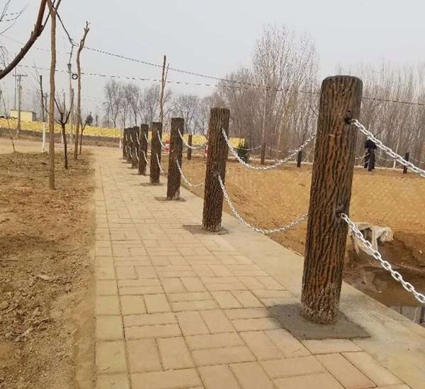 宜宾仿树系列栏杆