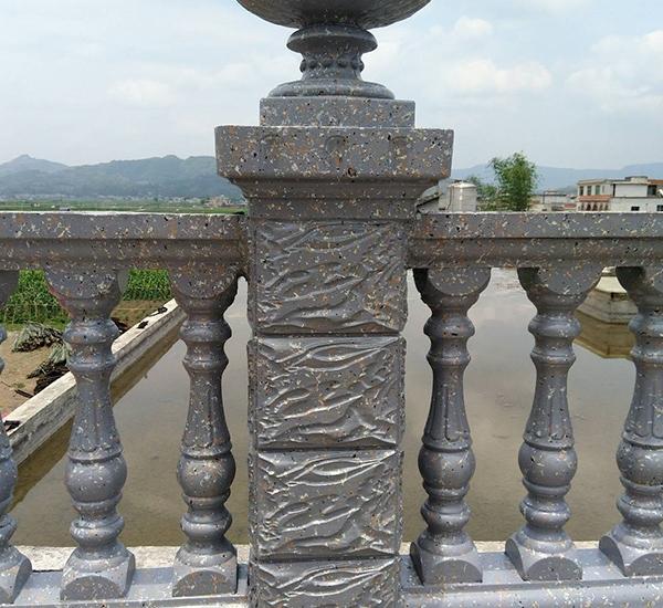 水泥花瓶柱
