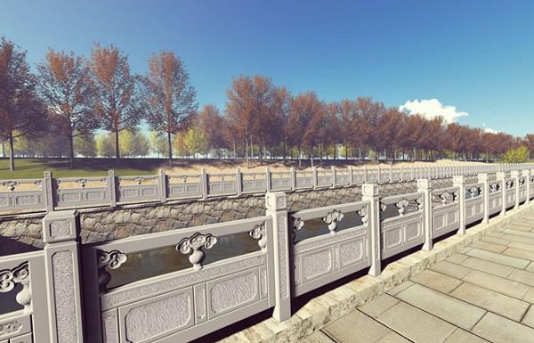 仿石栏杆市政工程