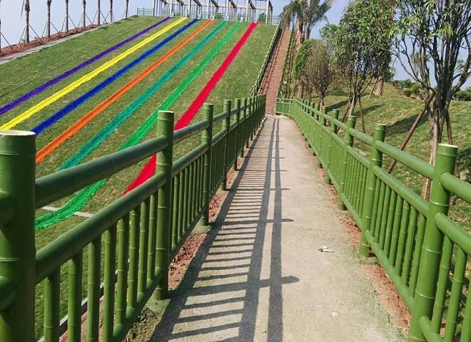 仿竹栏杆的作用和优点