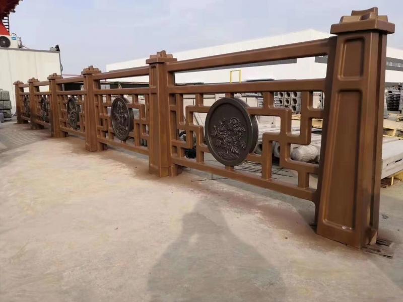 筠连县新中式仿木栏杆