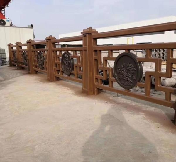 长宁新中式仿木栏杆