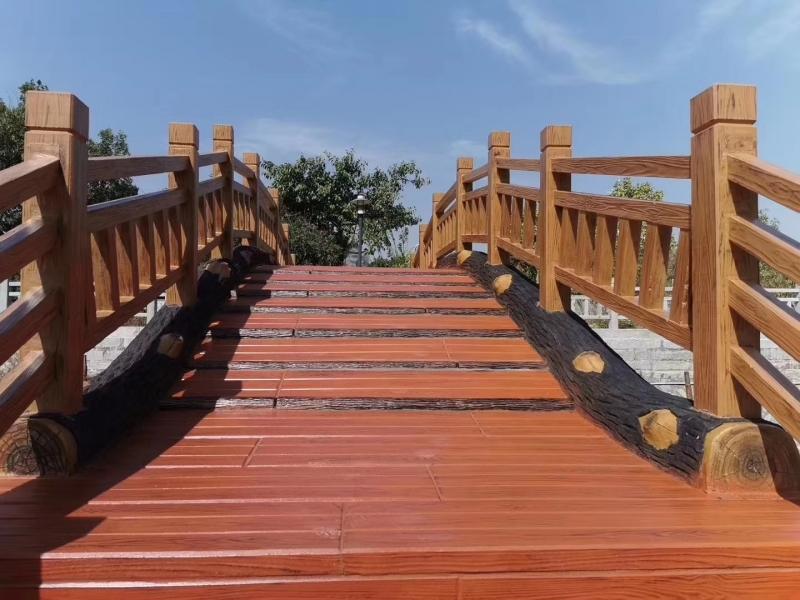 怎么维护仿木栏杆?