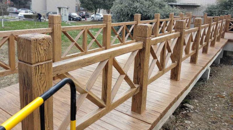 仿木栏杆安装方法,安装标准决不能忽视!